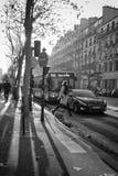 Boulevard de SA©bastopoll,巴黎 图库摄影
