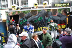 Boulevard de Super Bowl - New York City Photographie stock