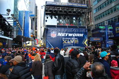 Boulevard de Super Bowl - New York City Image stock