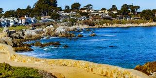 Boulevard de vue d'océan Photographie stock