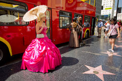 Boulevard di Hollywood Fotografia Stock Libera da Diritti