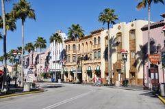 Boulevard di Hollywood a Orlando universale Fotografia Stock Libera da Diritti