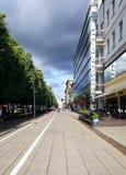 Boulevard di libertà Fotografie Stock