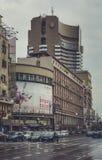 Boulevard di Magheru, Bucarest, Romania Immagini Stock Libere da Diritti