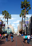 Boulevard in Disneyland Stock Images