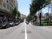 Boulevard Hassan i andra hand Arkivfoto