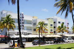 Boulevard Hotel Miami Beach Royalty Free Stock Images