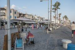 Boulevard in Pafos Stock Photos