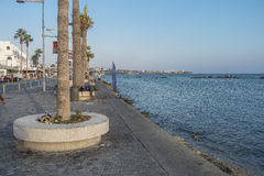 Boulevard in Pafos Royalty Free Stock Image