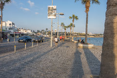 Boulevard in Pafos Royalty Free Stock Photos