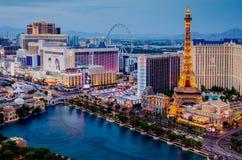 boulevard Las Vegas royaltyfria foton