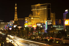 boulevard Las Vegas Arkivfoto