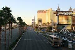 boulevard Las Vegas arkivbilder