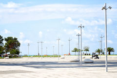 Boulevard of lights Royalty Free Stock Photography
