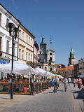 Boulevard, Lublin, Poland Royalty Free Stock Photography