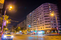 Boulevard Mosilor Royaltyfria Foton