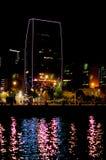 Boulevard at night stock photos