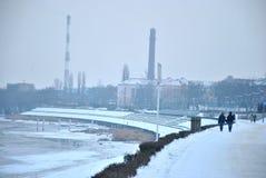 Boulevard in Polonia Immagini Stock