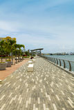 Boulevard in san juan. Puerto rico royalty free stock photography