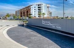 Boulevard San Pedro de Alcantara Image stock