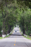 Boulevard, shandong rural roads in China Royalty Free Stock Images