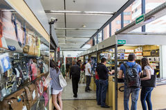 Boulevard Shopping Mall in Paulista, Sao Paulo, Brazil Stock Images
