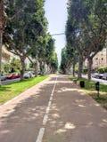 Boulevard in Tel Aviv Royalty-vrije Stock Afbeelding
