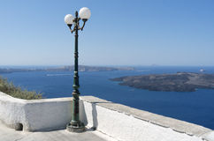 Boulevard Thira. Stock Photo