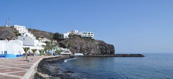 Boulevard 1 van Fuerteventuralas Playitas Royalty-vrije Stock Afbeeldingen