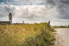 Boulevard van Noordwijk aan Zee, Nederland Stock Foto