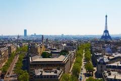 Boulevards de Paris Images stock