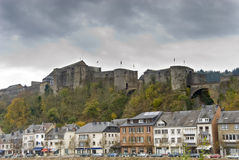 boullion zamku miasta obraz stock