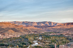 Boulmalne Dades valley at Morocco Royalty Free Stock Photography