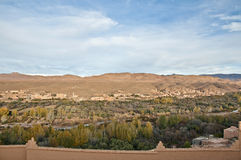 Boulmalne Dades valley at Morocco Stock Photography