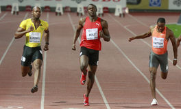 Boulon d'Usain Photo libre de droits