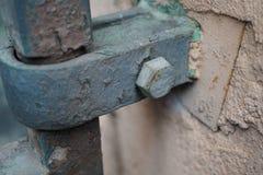 boulon de balustrade en détail Image stock