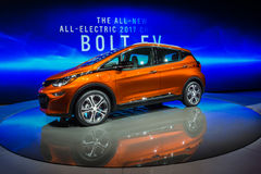 Boulon 2017 de Chevrolet EV Photographie stock libre de droits