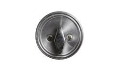 Boulon de porte en métal Image libre de droits