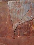 Boulons à chaînes de zinc en acier de rouille diy Photo libre de droits