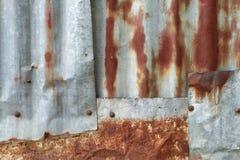 Boulons à chaînes de zinc en acier de rouille diy Photo stock