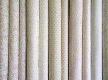 Boulons de tissu neutre Images stock