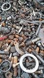 Boulons en métal Photo stock