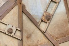 Boulons et acier Photos stock