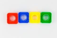 Boulons et jouet nuts Images libres de droits