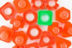 Boulons et jouet nuts Photo libre de droits