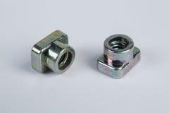 Boulons et vis en métal Image stock