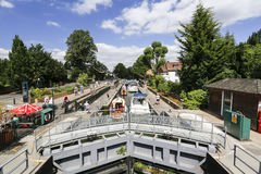 Boulters Lock Maidenhead Stock Photos