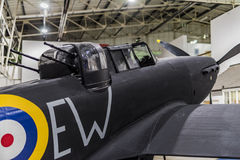 Boulton Paul Defiant Mk I lizenzfreies stockbild