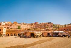 Boumalne Dades, Marrocos - 31 de outubro de 2016: Mercado em Boum Fotografia de Stock Royalty Free