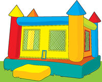 Bounce Castle stock illustration